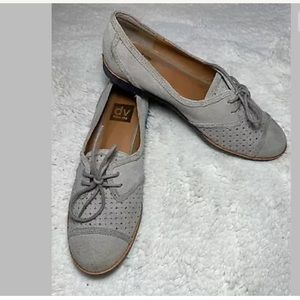 Dolce Vita perforated Oxfords Suede Lace Up